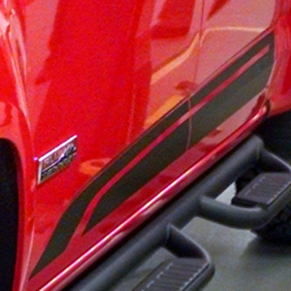 2016 Canyon Bodyside Decal Package for Extended Cab