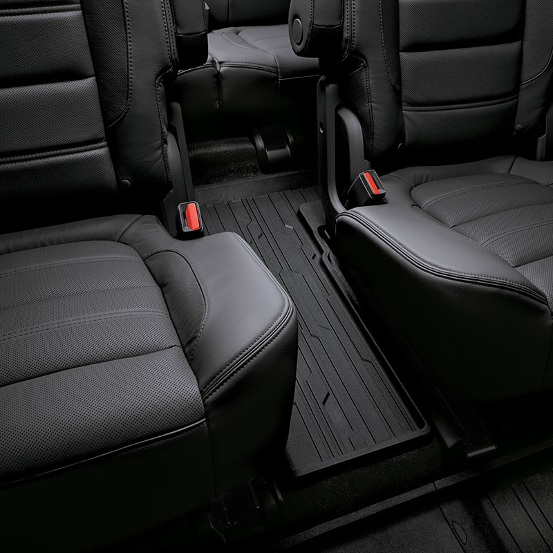 2017 Acadia All Weather Third Row Floor Liner Jet Black