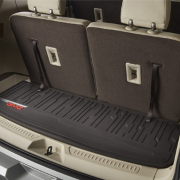 2017 Gmc 2500Hd Denali >> 2017 Acadia DENALI All Weather Cargo Mat in Dark Ash Gray, ShopGMCParts.com