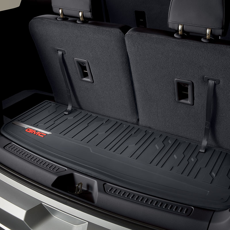 2017 Acadia DENALI All Weather Cargo Mat in Jet Black