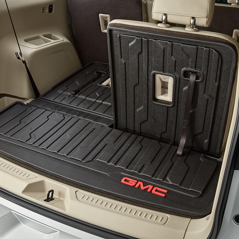 2017 Acadia Integrated Cargo Liner Jet Black