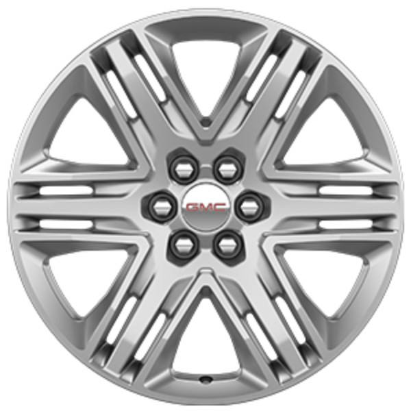 2017 Acadia DENALI  20-Inch Wheels Painted Sterling Silver - Single