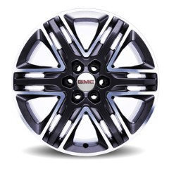 2017 Acadia 20-Inch Wheels Machined Face w/ Satin Graphite Painted Spo