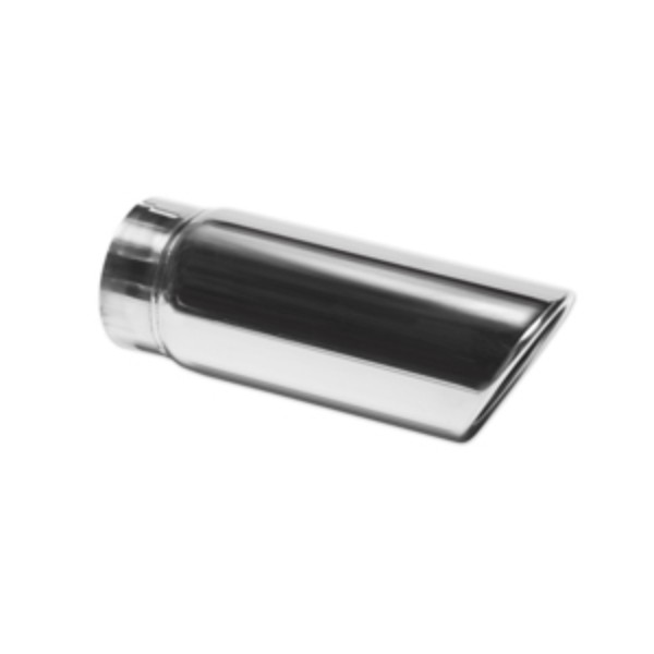 2016 Sierra 1500 Exhaust Tip, Polished, No Logo, 6.0L or 6.2L Engines