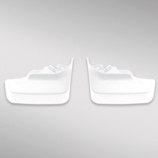 2015 LaCrosse Molded Splash Guards Front, White