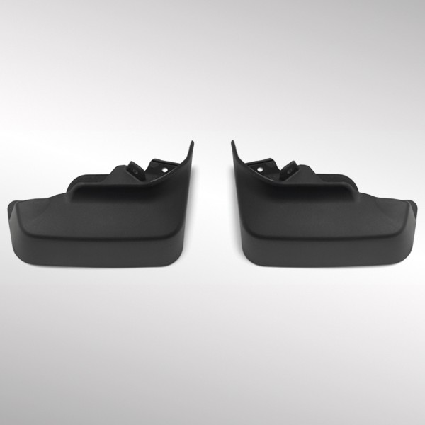 2015 LaCrosse Molded Splash Guards Front, Gray