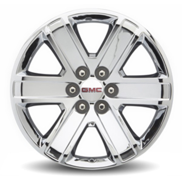 2017 Canyon 18-Inch 6-Spoke Wheels, Chrome - Single