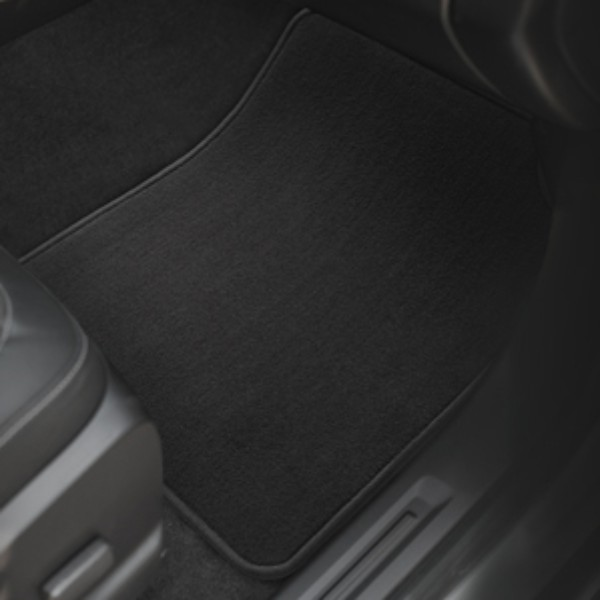 2016 Canyon Premium Carpet Floor Mats, Front, Jet Black