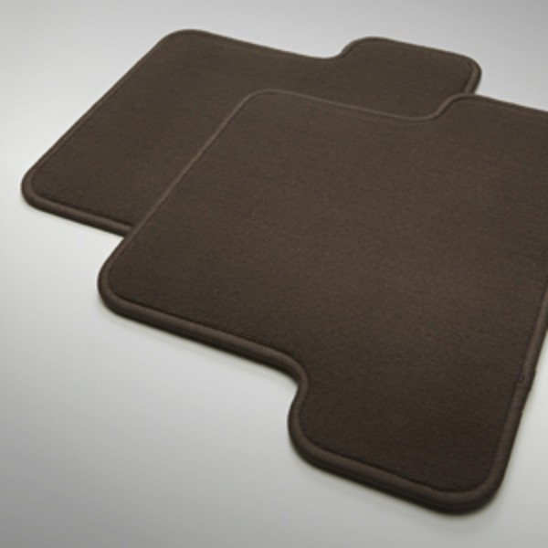 2016 Canyon Premium Carpet Floor Mats, Rear, Cocoa, Crew Cab