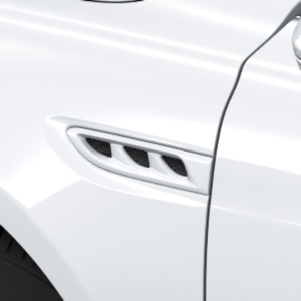 2017 LaCrosse Side Air Vents, White Frost Tricoat