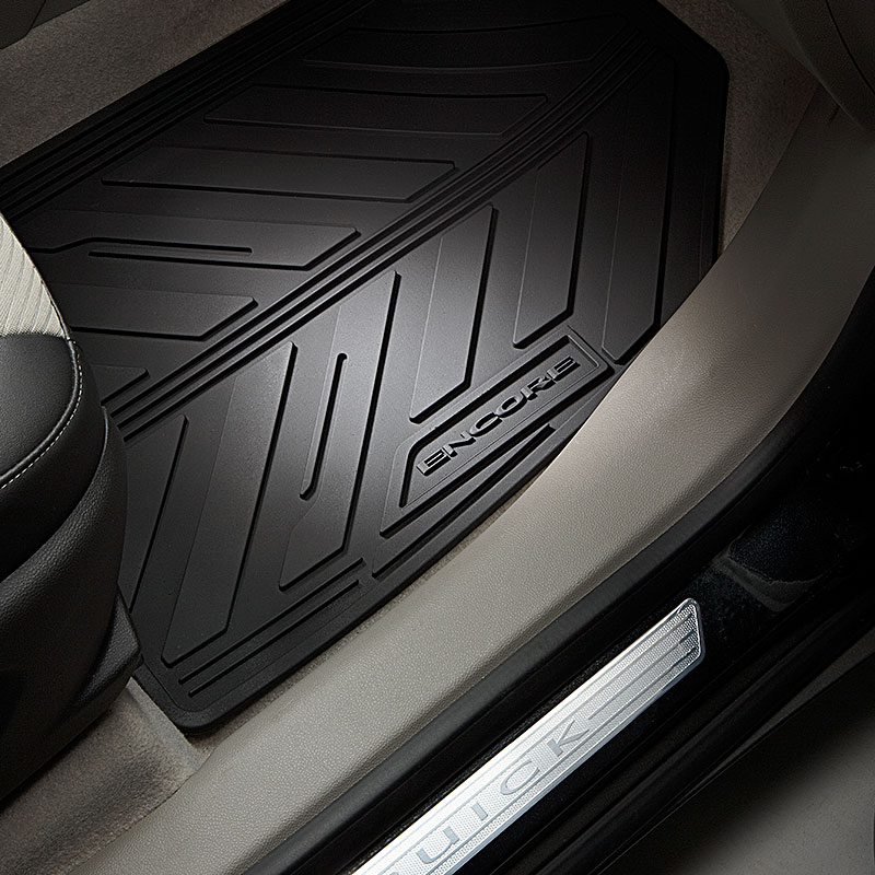 2017 Encore Floor Mats, Front and Rear Premium All Weather Mats,