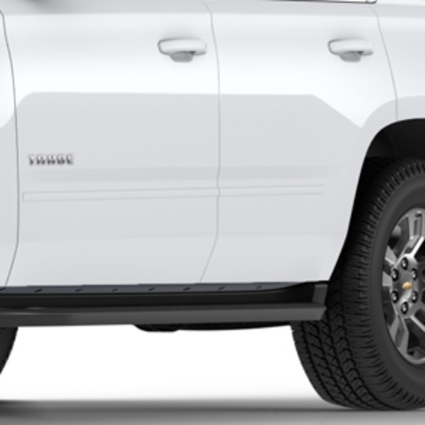 2018 Yukon Bodyside Molding Package, White Frost Tricoat