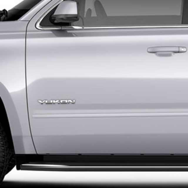 2018 Yukon Bodyside Molding Package, Quicksilver Metallic
