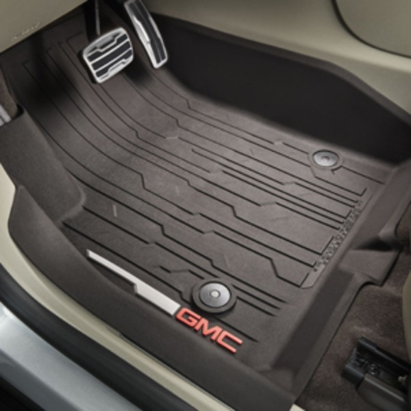 2017 Acadia Premium All Weather Floor Liners, Front, Dark ...