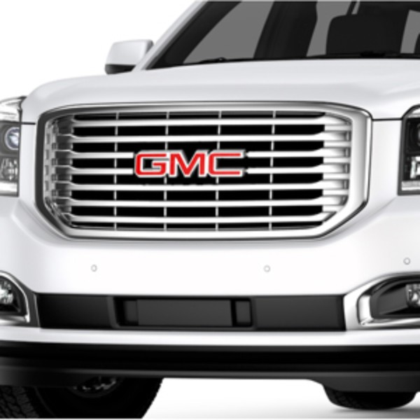 2017 Yukon Front Grille with Chrome Inserts