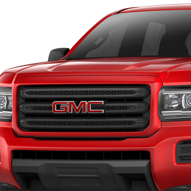 2018 Canyon Grille, Cardinal Red