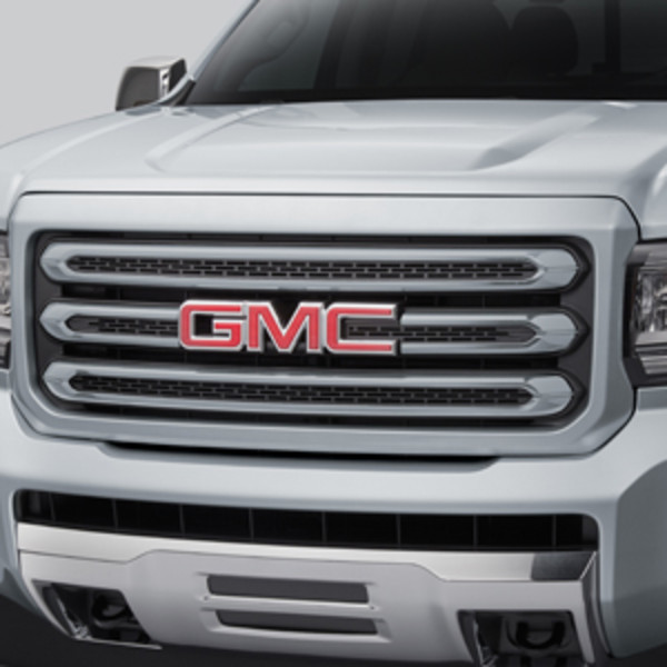 2018 Canyon Grille, Quicksilver Metallic
