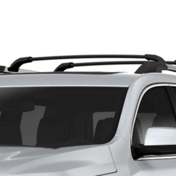 2017 Acadia DENALI Roof Rack Cross Rail Package, Black