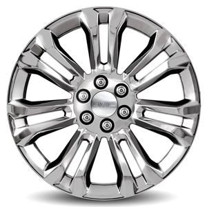 2014 Sierra 1500 22 inch Wheel, Chrome, CK159 SES, SINGLE