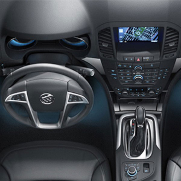 2015 Encore Ambient Lighting, Footwell and Cup Holder